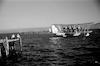 מטוס ימי נוחת על הכנרת – הספרייה הלאומית