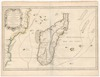 Carte de l'Isle Madagascar dite autrement Madecase et de S. Laurens et Aujourdhui L'Isle Dauphine auecque les costes de Cofala et du Mozambique – הספרייה הלאומית