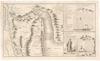Carte des Deserts de la Basse Thebaide;aux environs des Monasteres de St. Antoine et de St. Paul Hermites avec le plan des lieux par ou les Israelites ont probablement passe en sortant d'Egypte /;Porlier Sculp – הספרייה הלאומית