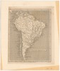 South America; J. Russell del. et sculp.