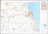 טבריה מפה טופוגרפית-טיולים.