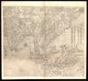 Il disegno della terza parte dell'Asia;Giacomo di Castaldi ; Fabius Licinius excudebat – הספרייה הלאומית
