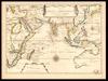 Carte des Indes Orientales;Par P.Du Val.