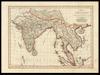 Charte von Ost-Indien;Nach den besten HÜlfsmittelnverfast /;bey Tranquillo Mollo.