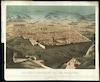 Die Stadt Jerusalem aus der Vogelschau – הספרייה הלאומית