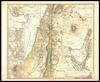Karte von Palaestina : nach den zuverlässigsten alten und neuen quellen / Von K.v. Raumer ; Gez. v. F. v. Stülpnagel u. Hrm. Berghaus – הספרייה הלאומית