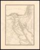Carte génerale de l'Egypte ancienne, de la Palestine et de l'Arabie Petrée / Par A.H. Brué – הספרייה הלאומית