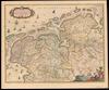 Tabula Frisiæ, Groningæ et Territorii Emdensis nec non circumiacentium Regionum, puta Transisalaniae, Benthemiae, Westphaliae et Oldenburgi;N. Vißcher – הספרייה הלאומית