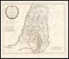 Carte de la Judée ou Terre Sainte pour l'intelligence de l'Histoire Sacrée divisée en douze Tribus / Par LS. Capitaine – הספרייה הלאומית