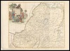 A map of the Holy Land divided into the XII Tribes of Israel wherein is exactly mark'd ye travels of Iesus Christ – הספרייה הלאומית