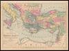 Map illustrating the travels of St. Paul – הספרייה הלאומית