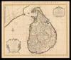 Carte de L'Isle de Ceylan = Insula Ceilon Olim Taprobana;Dressée sur les observations de Mrs. De L'Academie Royale Des Sciences Par Le Sr. De L'Isle – הספרייה הלאומית