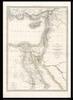 Carte de la Syrie et de Égypte anciennes / Dresseé par M. Lapie – הספרייה הלאומית