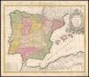 Regnorum Hispaniae et Portugalliae;El Reyno De Espanna /;â Ioh. Bapt. Homanno – הספרייה הלאומית