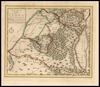 Kaart van Judaea, in zo verre het de zuidetyke landstreek van Palaestina bevat – הספרייה הלאומית