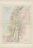The Holy Land as allotted by Joshua : to the Twelve Tribes of Israel / Engraved & printed... by W & A.K. Johnston – הספרייה הלאומית