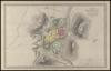 Plan de Jérusalem et de ses environs au temps de Jésus-Christ / Par A.H. Dufour – הספרייה הלאומית
