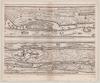 Tabvla itineraria ex illustri Peutingerorum, bibliotheca quae Augustae Vindelicorum : beneficio Marci Velseri, septem-viri Augustani in lucem edita. Peutinger table – הספרייה הלאומית