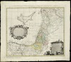 Palaestina seu Terra olim Sancta tum duodecim tribubus distributa, tum a Davide et Salomone... et Terra Gosen;delineavit I.C. Harenberg – הספרייה הלאומית