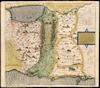 Tribus Zabulon, Isachar, et Dimidia Manasse altera;hoc est, illae Terrae Sanctae regionis, quas iste tribus in distribuendo possidendas acceperunt.
