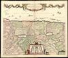 Terra Sancta, sive Promissionis, olim Palestina;recens delineata, et in lucem edita per Nicolaum Visscher. J.C. Visscher Excudit – הספרייה הלאומית