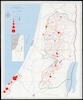 Population map of the West Bank and the Gaza strip : 1992 / Presented by the Settlement Watch Team of Peace Now.