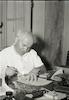 ראש הממשלה דוד בן גוריון ביום הולדתו ה-65 – הספרייה הלאומית