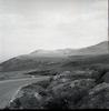 הר הגלבוע ממעברת זרעין שהוקמה ממזרח לתל יזרעאל