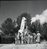 פסל האריה השואג לזכרו של יוסף טרומפלדור והנופלים בקרב על תל חי – הספרייה הלאומית