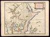 Haute Ethiopie ou sont L'Empire des Abissins, La Nubie, et le Zanguebar;Subdivisés en leurs principales parties /;tirés de Sanut de Mercator &c. Par le Sr. Sanson d'Abbeville – הספרייה הלאומית