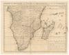 Carte du Royaume de Congo, du Monomotapa et de la Cafrerie;Dressée sur le memoires les plus exacts & les les observations les plus nouvelles.