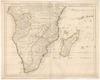 Carte du Congo et du Pays des Cafres;G. De L'Isle.