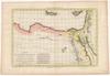 Carte de L'Egypte moderne, avec la partie orientale des etats de Tripoli;par M.Bonne. Perrier sculp – הספרייה הלאומית