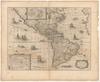 America;noviter delineata /;Auct. Henrico Hondio – הספרייה הלאומית