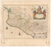 Nova hispania, et Nova Galicia;Guiljelmus Blaeuw excudit.