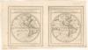 Der Neuen Welt Begriff. bestehende in 2 haubt Theilen als Nord America und Sud America;Warinnen der Erste Meridian nach Frantzosischer art gezogen – הספרייה הלאומית