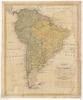 Charte von Süd America;Nach den bewährtesten astronomischen Bestimmungen... /;I. Rausch sc.