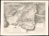 Carte ou Plan Géometral fait à vol d'oiseau de l'antique ville de Syracuse et de ses Environs;Dessiné par Chatelet. Gravé par Paris.
