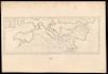 Carte des côtes de la Méditerranée et de l'Océan;Destiné à faire connoitre ls situation du Port Vendres – הספרייה הלאומית