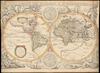 Nova totius terrarum orbis geographica ac hydrographica tabula;Auct Iud. Hondio – הספרייה הלאומית