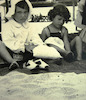 OSE summer camp at the beach.:CAHJP Photo Collections -- British OSE (Œuvre de Secours aux Enfants) Society - Old Photographs 1947 - 1975 -- Italy.