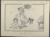 מהומה בליכוד והכלכלה דולפת [קריקטורה ללא כותרת] – הספרייה הלאומית
