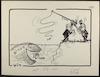 מצרים בולעת את טאבה [קריקטורה ללא כותרת] – הספרייה הלאומית