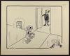 דיין מציג את שיחתו עם סאדאת [קריקטורה ללא כותרת] – הספרייה הלאומית