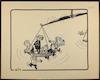 בגין ואישים נוספים על כף המאזניים [קריקטורה ללא כותרת] – הספרייה הלאומית