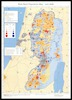 West Bank Population Map; July 2008 /; Vered Shatil.