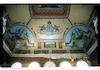 Tsori Gilad Synagogue in Lviv, interior, ceiling, photos 2006 Ceiling, east side – הספרייה הלאומית