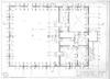 Wooden Beit Midrash in Seda - measured drawings Drawings – הספרייה הלאומית