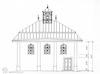Karaite Kenassa in Trakai - measured drawings Drawings – הספרייה הלאומית