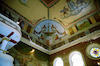 Tsori Gilad Synagogue in Lviv, interior, ceiling, photos 2006 Ceiling, northeastern corner – הספרייה הלאומית